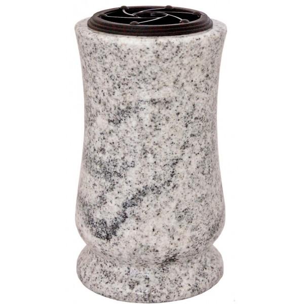 Vase funéraire tourné en granit T53