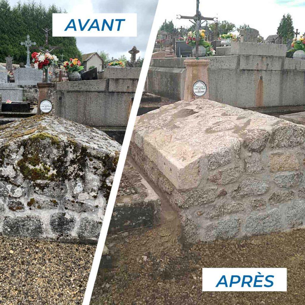 Réfection de tombes -Accueil - Marbrerie Haute Correze